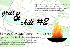 "grill&chill #2 @ Spielplatz ""alter Friedhof"" (Obergass-Burgstrasse)"